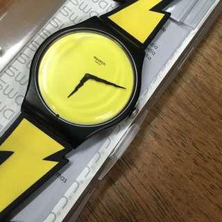 Swatch Jimmy Scott 閃電 flash