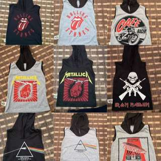 Rock Band Hoodies 4kids, kufi n Jawi Shirt & Tie n Dye kids Dhirt