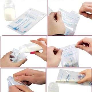 🌈(Ready Stock)🆕Brand New Jaco Perfection Breastmilk Storage Bags 30pcs/60pcs/90pcs/120pcs - 200ml per bag