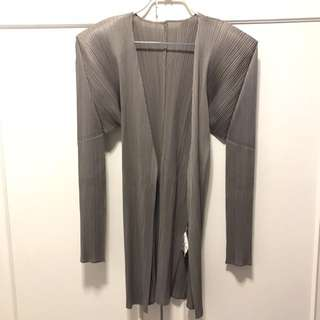 ISSEY MIYAKI Pleats Please Cardigan (Made in Italy)