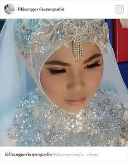 Terima make up pengantin