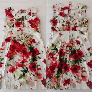 Cut Out Flower Dress