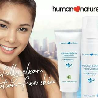 Human Nature Pollution Defense Face Cleanser