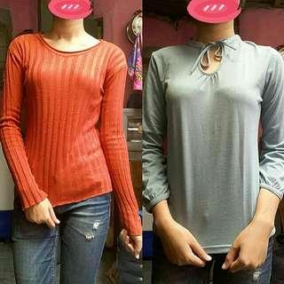 Buy 1 Get 1 Baju Lengan Panjang