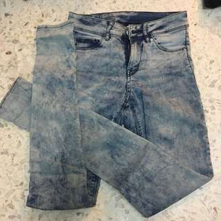 H&M Washed Denims