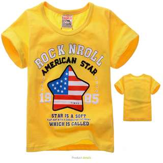 [Buy 3 for $10] Boys Graphic T-shirt/ Boys Clothing HS8002