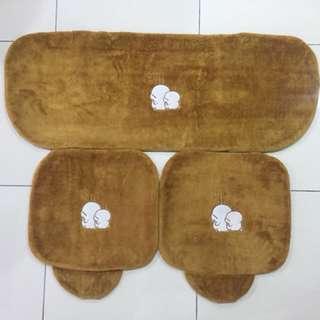 Mashimaro Car Seat Cover Full Set