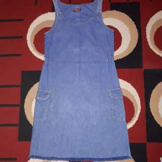 Overall rok jeans