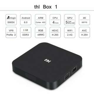 4k Android TV Box THL