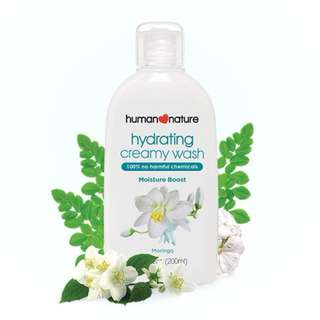Hydrating Creamy Wash by HUMAN❤NATURE