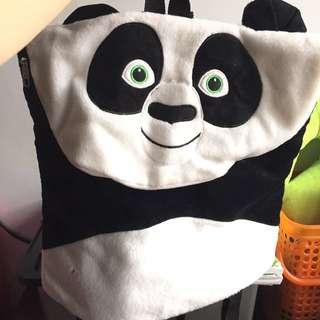 tas panda ransel