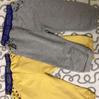 2 pairs of boys pajama pants