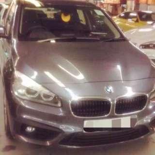 BMW 218i 大空灰色