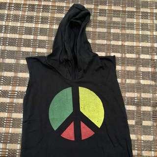 Rasta Peace Kids Hoodie Tees