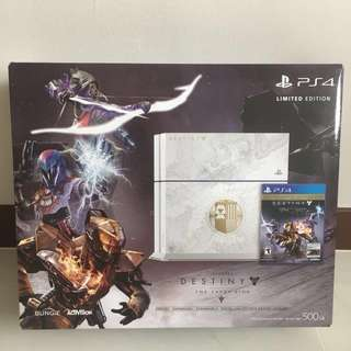 Limited Edition PS4 + PS4 Camera