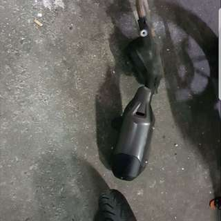 Fz16 Stock Exhaust