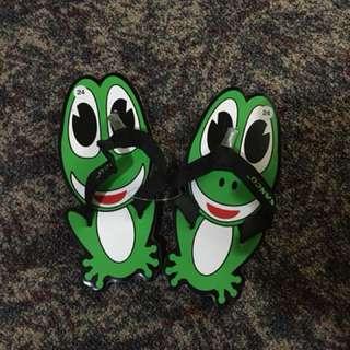 Sandal Kodok lucu