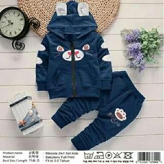 Set 2in1 bibicola hoodie