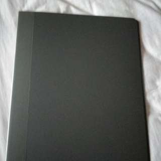 Clear file folder 20 pockets pages