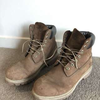 Timberland boots men shoes size 9