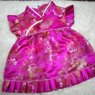 CNY cheongsam baby Dress
