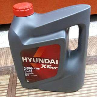 KIA/HYUNDAI-SEMI Synthetic Engine Oil 20W50.