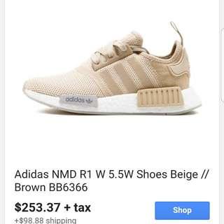 New Adidas NMD R1 nude 7
