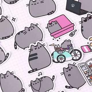 [Instocks 📩] Planner Stickers: Pusheen Cat
