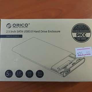 "2.5"" SATA USB3.0 Hard Drive Enclosure"