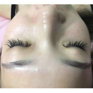 Natural Eyelash Extensions 自然嫁接睫毛