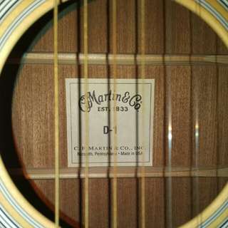 Martin D1 (smells like new)