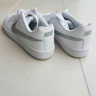 #huat50sale Nike silver and white court royale
