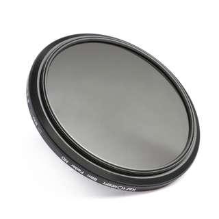 K&F Concept 77mm ND Fader Variable Neutral Density Adjustable ND Filter ND2 to ND400 for Canon 6D 5D Mark II 5D Mark III for Nikon D610 D700 D800 DSLR Cameras