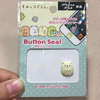 sumikkogurashi button seal