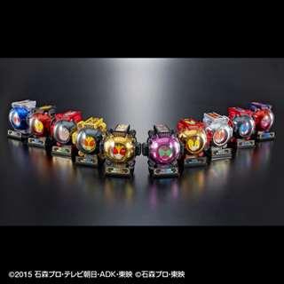 [FLASH SALE] [CASH ONLY] Bandai - Bandai Online Shop Exclusive - Arsenal Toy - DX Legend Rider Ghost Eyecon Set (Sparkling Metallic Ver) - Collectible Figure