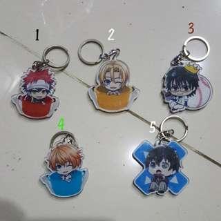 Gantungan Kunci Anime Chibbi