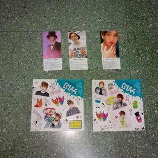 B1A4 Official Photocards & Stickers