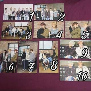 BTS X Mediheal Postcard