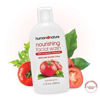 Nourishing Facial Wash by HUMAN❤NATURE