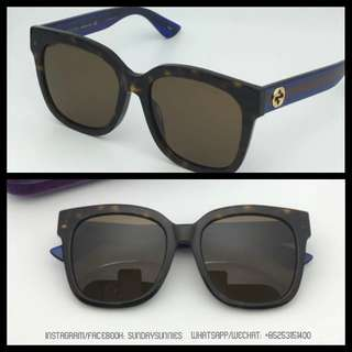 Gucci GG0034s square acetate sunglasses 太陽眼鏡