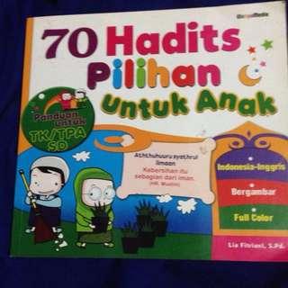 70 hadist pilihan untuk anak