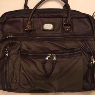 D&G Nylon bag leather trim W:55cm H:44cm