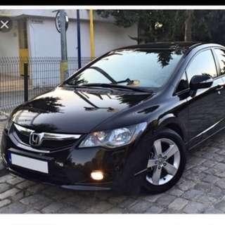 Civic Fd bumper 08 new facelift