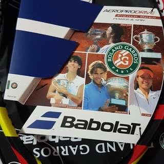 Babolat Aeropro Roland Garros Sp Ed Nadal Tennis Racket