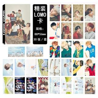 BTS 2018 SEASON GREETING LOMOCARD