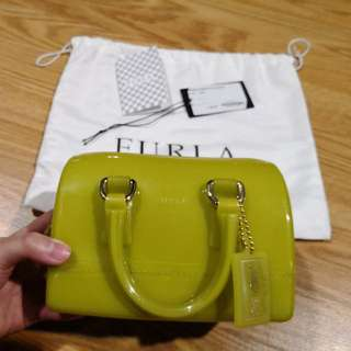 💯Authentic USED Furla Mimi Candy Bag