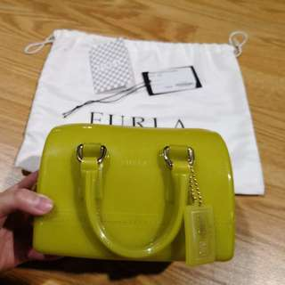 💯 Authentic USED Furla Mini Candy Bag