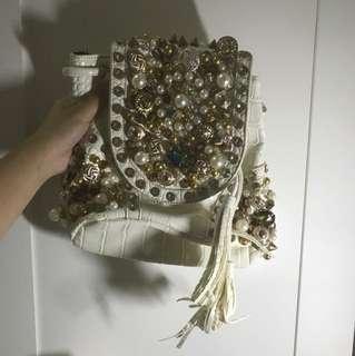 White Jewerly Bag
