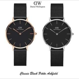 DW CLASSIC BLACK (ashfield)