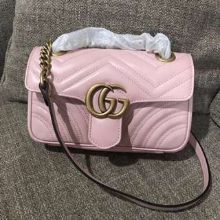 New GUCCI Marmont light pink